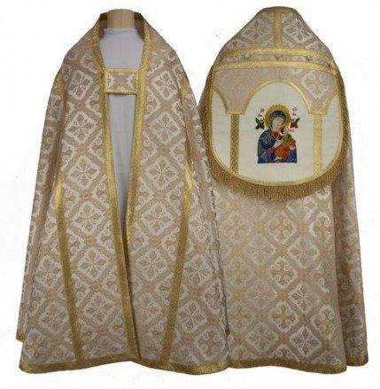 "Roman cope ""Our Lady of Perpetual Help"" KR4-AK50"