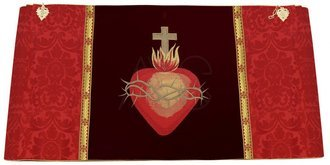 """Humeral Veil """"Heart of Jesus"""" W829-AC26"""