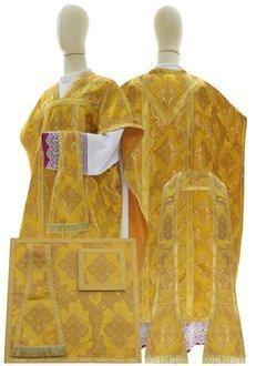 "Silk chasuble ""St. Philip Neri"" F068-G9"