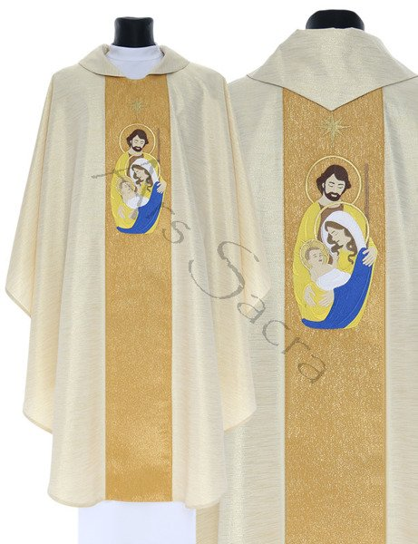 "Gothic Chasuble ""Christmas"" 762-GG64"