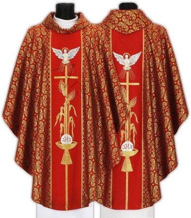 """Gothic Chasuble """"Holy Spirit"""" 007-C34g"""