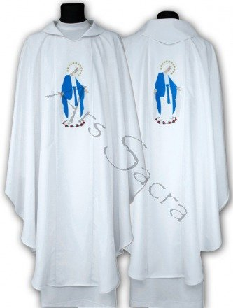 """Marian Chasuble """"Our Lady of Grace"""" 610-B"""