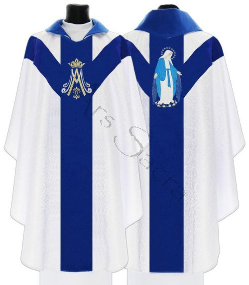 """Marian Chasuble """"Our Lady of Grace"""" Y721-ABN25"""