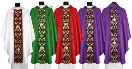 Set of Gothic Chasuble SET-603-A25