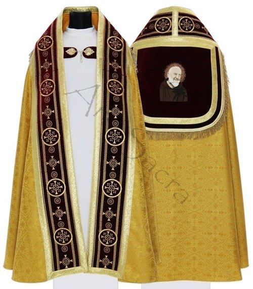"Römische Pluviale ""St. Pater Pio"" KT579-AGC16h29"