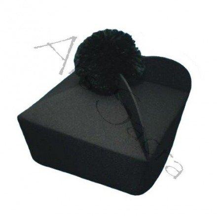 Birreta negra con 3 esquinas B-1