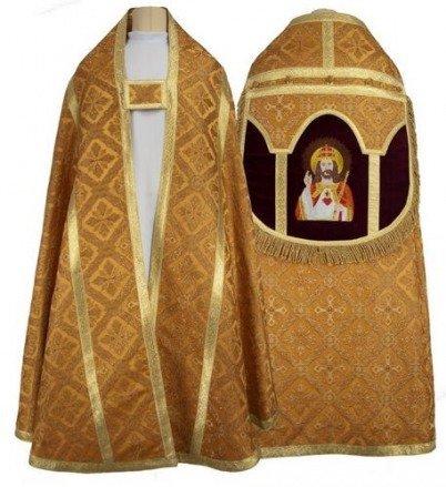 "Capa pluvial romana ""Cristo Rey"" KR3-AGC50"