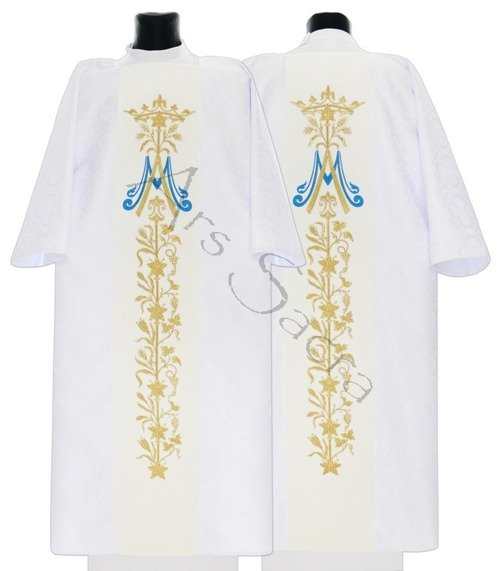 Dalmática gótica mariana D581-AB25
